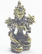 Lucky Gift Maa Laxmi Lakshmi Hindu Deity Goddess Rich Wealth & Lucky India Thai Mini Amulet