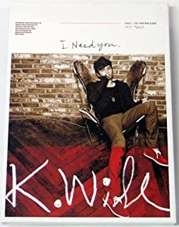Starship Entertainment K.Will Kwill - I Need You (3Rd Mini Album)
