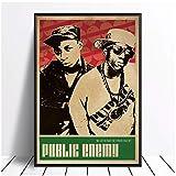 ASLKUYT Public Enemy Musik Sänger Poster Hip Hop Rap Musik