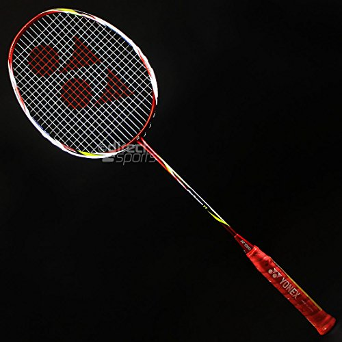 Yonex ArcSaber 11 Badmintonschlager, Color- Red/Clear
