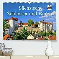 Saechsische Schloesser und Burgen (Premium, hochwertiger DIN A2 Wandkalender 2022, Kunstdruck in Hochglanz): Dieser Kalender zeigt einige der schoensten Burgen und Schloesser in Sachsen. (Geburtstagskalender, 14 Seiten )