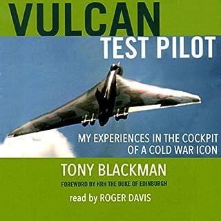 Vulcan Test Pilot audiobook cover art