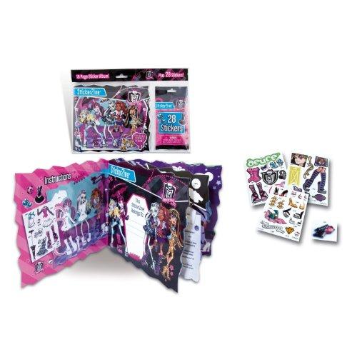 Monster High - 64009 - Loisir Créatif - Stickerzine