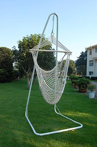 Lelestar Swinging Rope Hammock Chair, For Garden, Outdoor Use