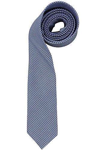OLYMP Herren Seidenkrawatte stoned blue (81) 000