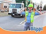 Blippi recycelt mit Müllwagen
