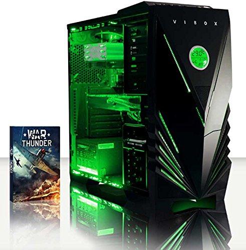 VIBOX Warrior 4 - Ordenador para Gaming (AMD FX-6300, 8 GB de RAM, 1 TB de Disco Duro, AMD Radeon R7...