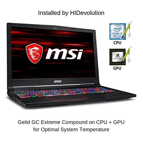 Compare HIDevolution MSI GE63 8SG Raider RGB (GE63-Raider-RGB-051-HID10-US) vs other laptops