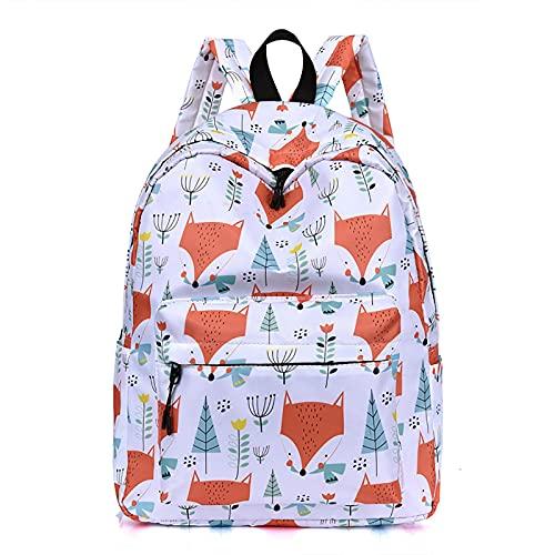 BMDHA Mochilas Escolares, Mochila Waterproof Oxford Cloth, Mochila Escolar Adolescente Travel Printing Mochilas Escolares Trendy Outdoor Student Shoulders