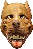 Mad Dogs Latex Masks Adult Size (Choose Race) (Pitbull)