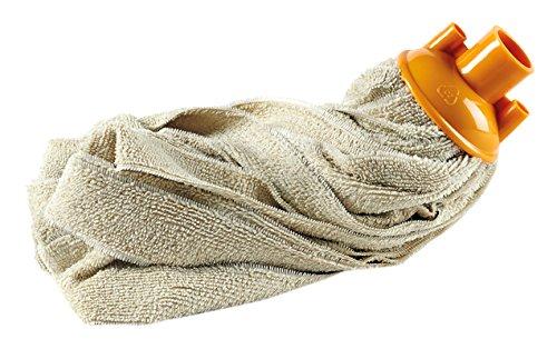 Perfetto Magicmop Mop Pavimenti, Tessuto, Coccia Zucca/Porpora/Filato Ghiaccio, 7x7x26.0 cm