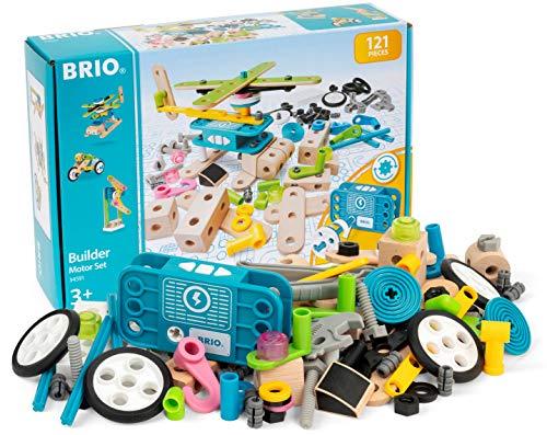 BRIO (ブリオ) ビルダー ビルダー モーターセット [木製レール おもちゃ]34591
