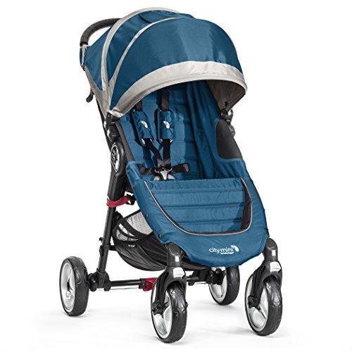 Baby Jogger City Mini 4 - Silla de paseo, color turquesa /...