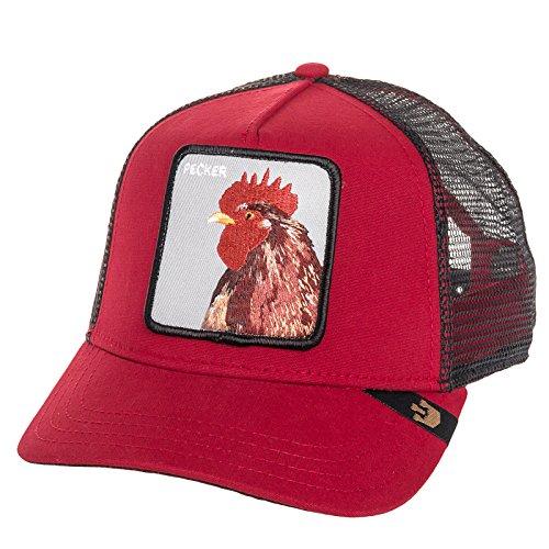 Goorin Bros - Gorra para hombre, diseño de gallo «Pecker», color rojo