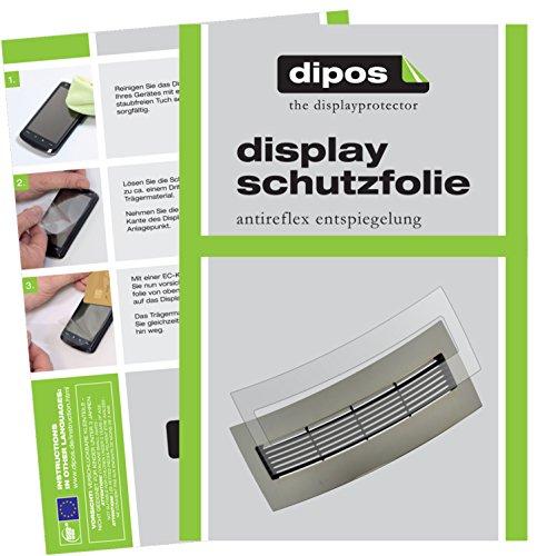 dipos I 2X Schutzfolie matt kompatibel mit Jura J6 J9 J9.4 J9.3 J90 J95 J500 XJ9 Tropfblech Folie Displayschutzfolie