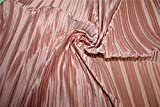 Puresilks Tela plisada de satén color rosa cebolla 58 pulgadas de ancho FF9[1]