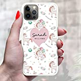 N4U Online® Personalised Cute Unicorn Phone Case Cover For