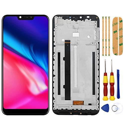 AiBaoQi - Pantalla táctil LCD para Cubot P20 Android 8.0 2246x1080 6.18