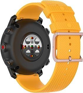 Ficocean Bracelets de Montres Silicone 22mm, Watch Strap Libération Rapide Compatible avec Polar Vantage M /Polar Grit X /...
