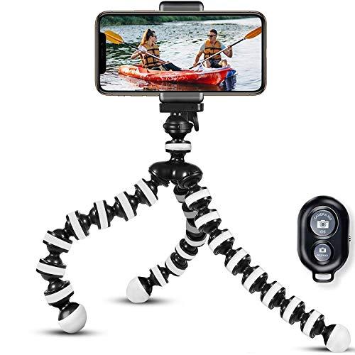 Handy Stativ Halter Stativ Für Smartphone Lightweight Tripod Ständer für iPhone stativ/Samsung/Huawei Halter Halterung Leichtes Kamera-Dreibeinstativ