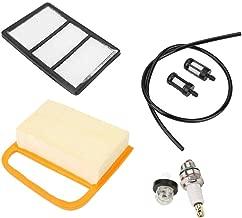 Akozon Air Filter Fuel Filter Primer Bulb + Plug Service Kit for Stihl TS410 TS420 Cut Off Saw