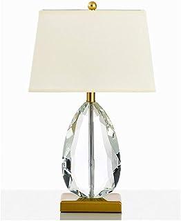 ZLMAY Moderne LED Cristal Lampe de Table Nordic Chambre Salon Hôtel Lampes de Table Lampe de Chevet décoratif Lampe de Bur...