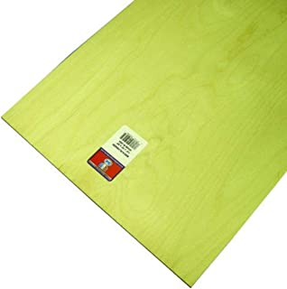 Midwest Products 5246 Model Birch Plywood Sheet, 0.25 x 12 x 24 inches