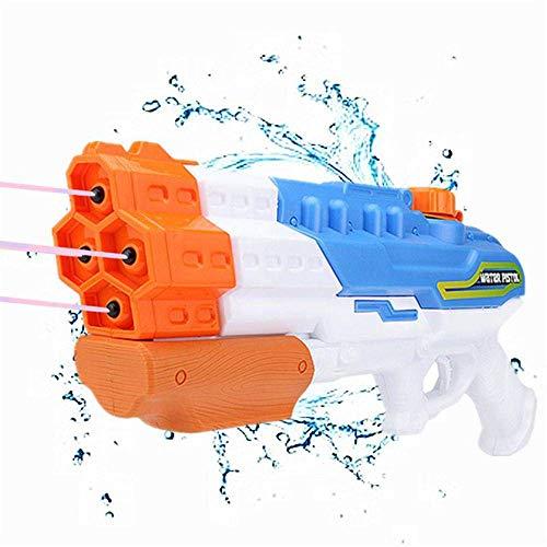 DYB Größte Wasserpistole Wasserpistole - 1L Blaster Squirt mit 8-10 m Reichweite für Schwimmbad, Strand und Outdoor-Sommerspaß, Kampf für Kinder und Erwachsene 1150 ML