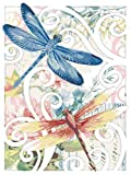 WJYMJJ Pintar por Numeros para Adultos Niños libélula DIY Pintura al Óleo por Números con Pinceles y Pinturas, Decoración del Hogar, Sin Marco, 40 x 50 cm