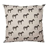 Eideo Home Zierkissen CHIC Safari - Zebras, Polyester, 45 cm