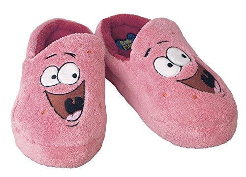 Close Up Spongebob Hausschuhe Patrick/Slipper aus Plüsch in Kindergröße (XS)