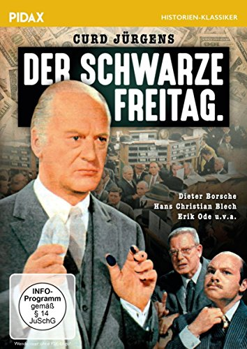 Der schwarze Freitag / Spannender Film über den New Yorker Börsenkrach 1929 mit Curd Jürgens, Erik Ode und Dieter Borsche (Pidax Film-Klassiker)