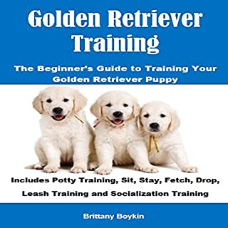Golden Retriever Training cover art