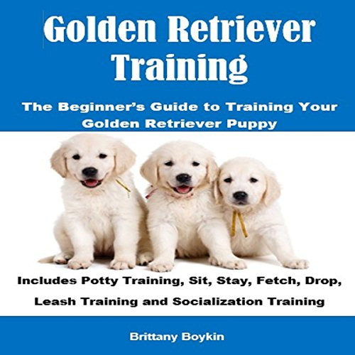 Golden Retriever Training audiobook cover art