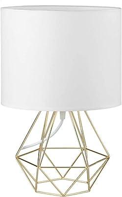 Frideko Lampe de table vintage, rétro industriel tuyaux d'eau en fer, lampe de bureau pour table de chevet (style humanoïde)