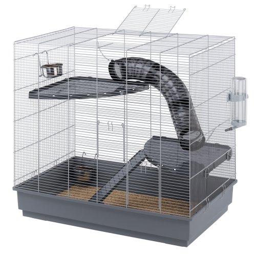 Ferplast 57058801 Cage pour Rat Jenny Gris 80 x 50 x 79,5 cm