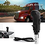 USB Gearshift Knob from a MAN truck ATS & ETS2 Games QH Gearshift Shifter Knob For Logitech G29 G27 G25 G920 For THRUSTMASTER TH8A for ATS ETS2 Games AI PC