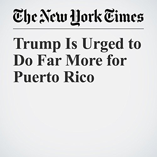 Trump Is Urged to Do Far More for Puerto Rico copertina
