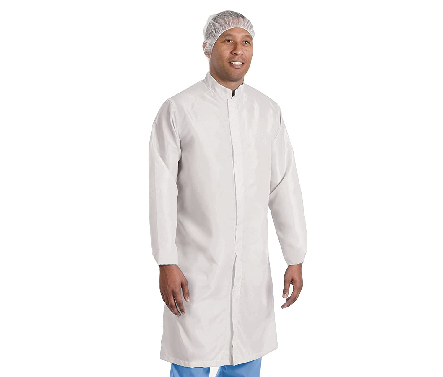 AMZ 1 year warranty White Disposable Lab Coats. of Polyethylene Max 45% OFF Pack Co-Polym 10