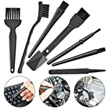 TEC TAVAKKAL Conductive Fibers Bristles Plastic Handle Durable Anti Static ESD Safe Brushes for...