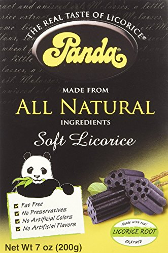 Panda Licorice Licorice Chews 7Ounce Bags Pack of 12