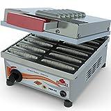 Máquina Crepeira Elétrica para 12 Crepes Suíços Em 5 Minutos 127v