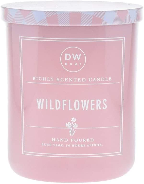 DW Home Hand Poured Richly Scented Wildflowers Large Double Wick Candle