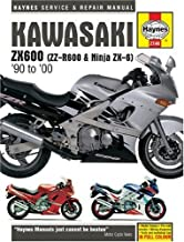 Kawasaki ZX600 (ZZ-R600 and Ninja ZX-6) Service and Repair Manual: 1990 to 2000 (Haynes service & repair manual series) by Stubblefield, Mike, Haynes, J. H. (2001) Hardcover