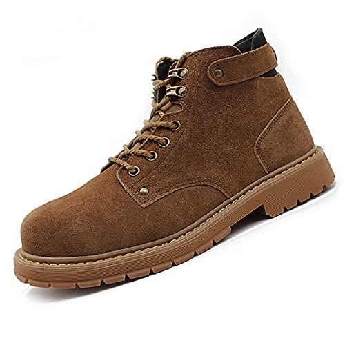 Zapatos de trabajo Botas de seguridad de soldadura de soldadores de mujeres para hombres, zapatos de trabajo cómodos a prueba de puncos, zapatos casuales de alto rendimiento Suela de senderismo Tendín