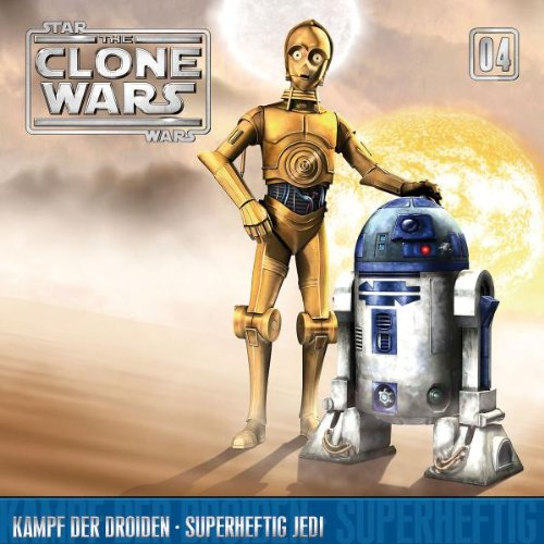 Star Wars - The Clone Wars 04: Kampf der Droiden/ Superheftig Jedi