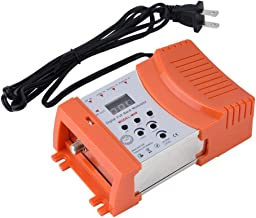 Home RF Modulator, fosa Universal Compact Digital RF Modulator Audio Video TV Converter Signal Converter, 47 to 868 MHz VHF UHF Signal Amplifier for All Local CATV Systems(Orange)