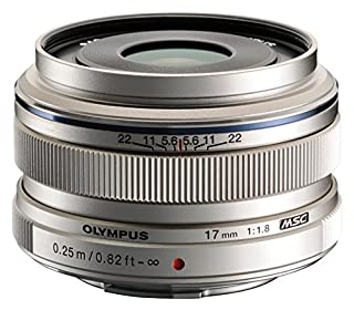 Olympus V311050BU000 M.Zuiko Digital 17mm F1.8 Lens, for Micro Four Thirds Cameras (Silver) (B00A7Q9U9Y) | Amazon price tracker / tracking, Amazon price history charts, Amazon price watches, Amazon price drop alerts