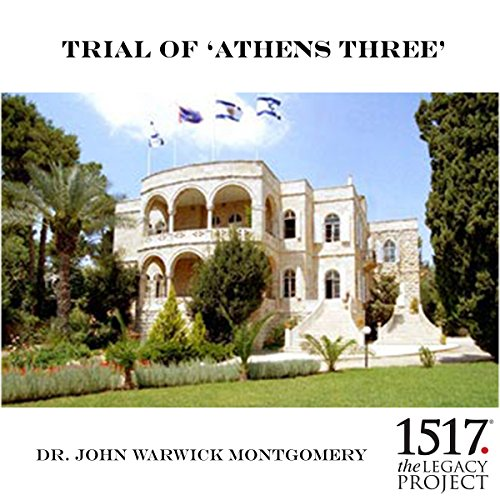 "Trial of ""Athens 3"" audiobook cover art"
