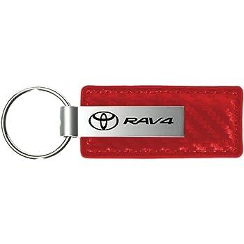 Toyota Rav4 Red Teardrop Keychain INC Au-Tomotive Gold
